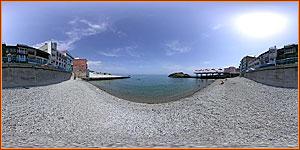 пляж в Утесе - отдых в Крыму