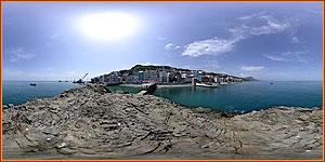 набережная в Утесе - отдых в Крыму